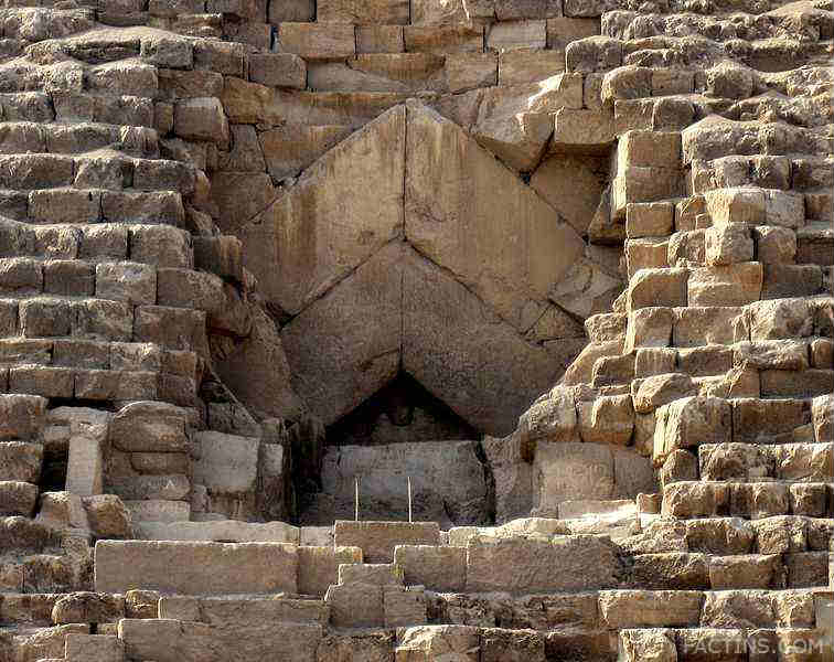 The Great Pyramid- The Entrance