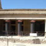 Hall of the Double Axes - The Great Palace of Knossos