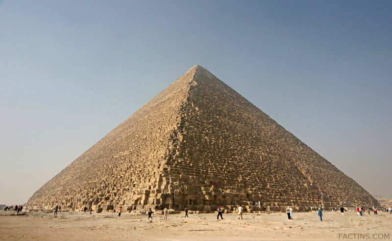 The Great Pyramid- Current View