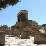 North Entrance & Pillar Hall - The Great Palace of Knossos