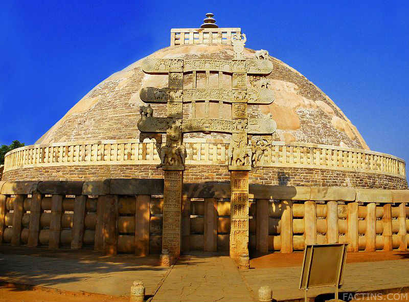 Interesting facts about great stupa at sanchi