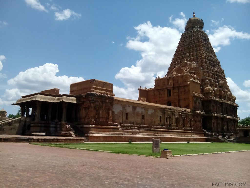 Facts must know about Thanjavur Brihadeeswarar Temple