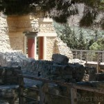The Corridor of the Procession - The Great Place of Knossos