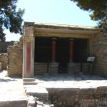 The House of the Chancel Screen - The Great Palace of Knossos
