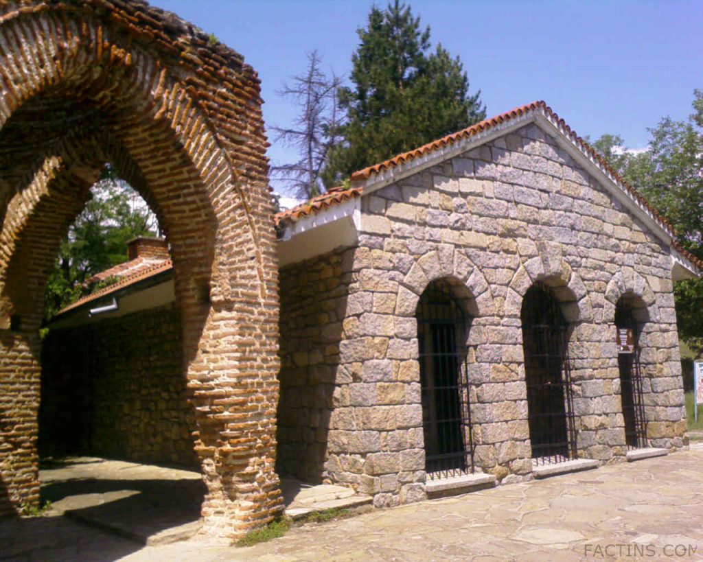 The Thracian Tomb Outside View