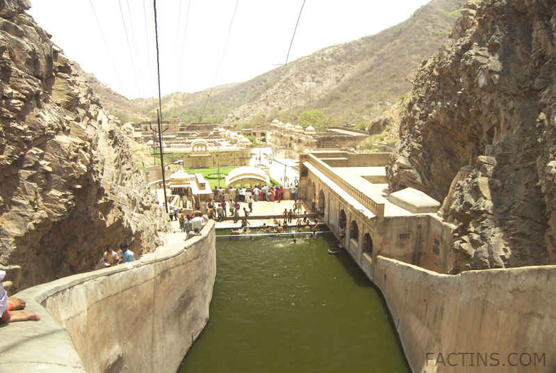 Upper water tank at Galtaj