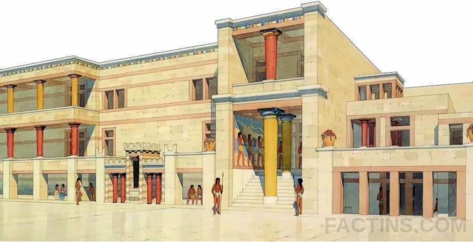 Palace of Knossos History