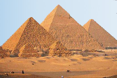 Exciting information about pyramid of Giza, Egypt Pyramid
