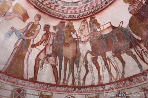 Thracian Tomb of Kazanlak - Paintings