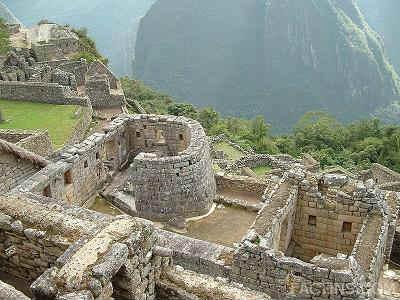 the temple of the sun - Mahu Pichu