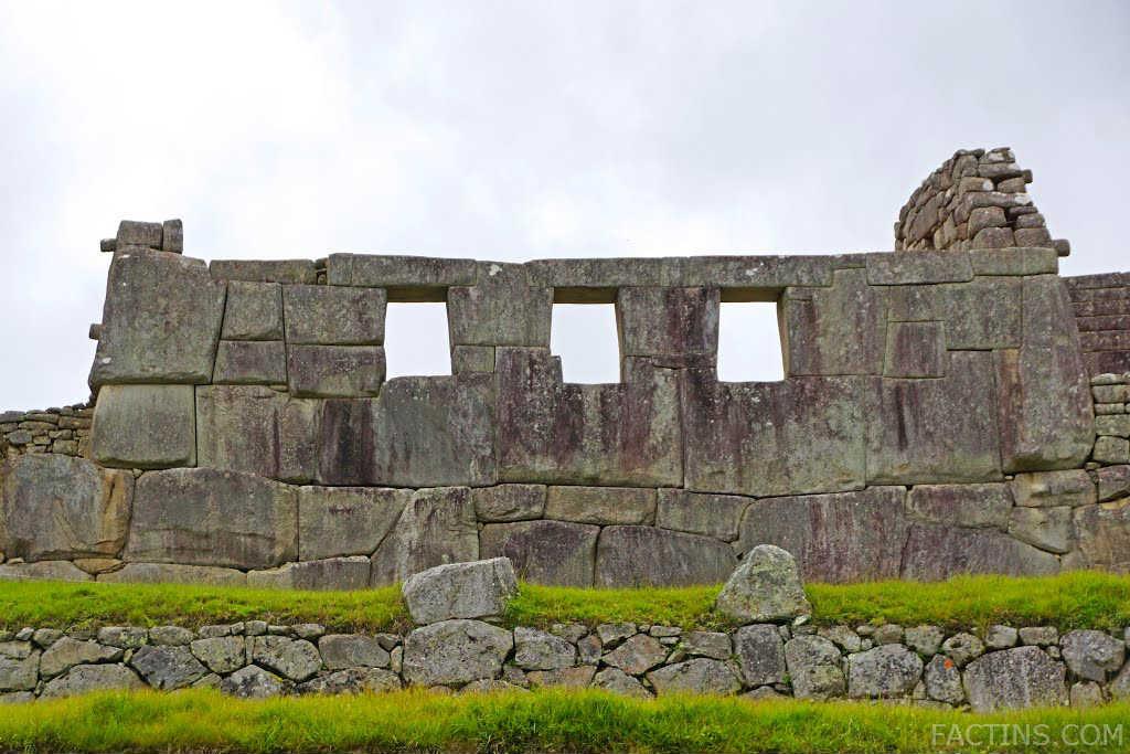 Three Windows - Machu Pichu