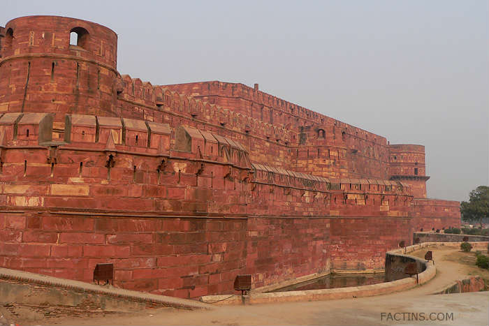 Agra Fort Arial View
