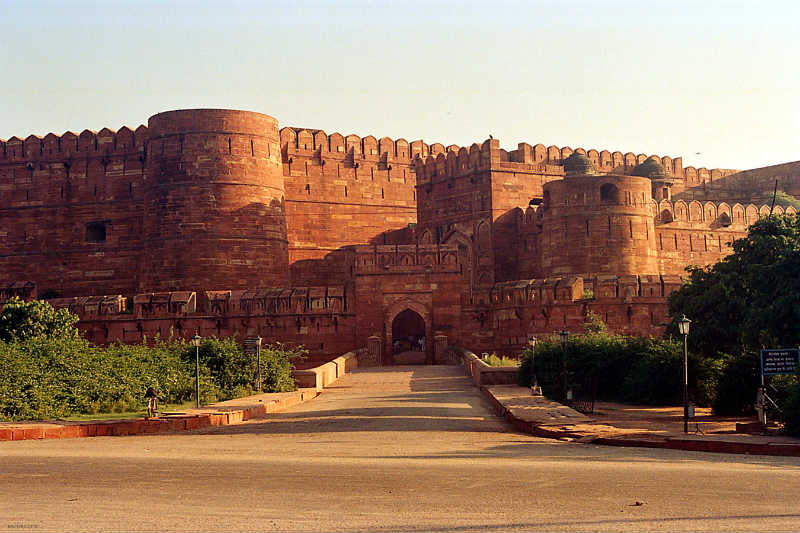 Interesting facts about Agra Fort Architecture