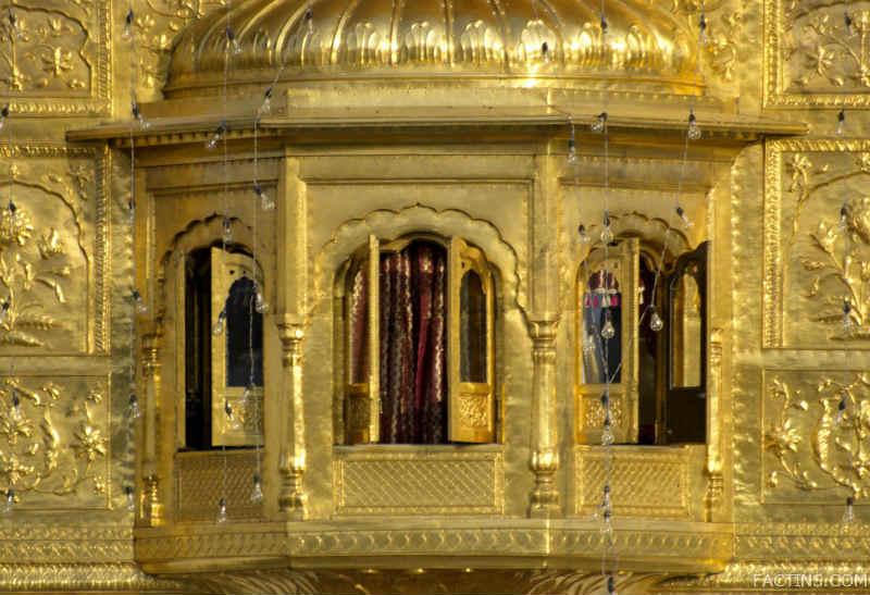 Sunlight Reflection on Golden Temple