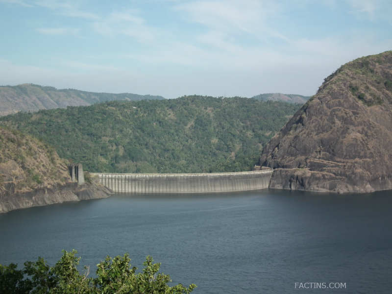 Idukki Arch Dam Aerial View