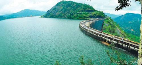 Idukki Dam Top View