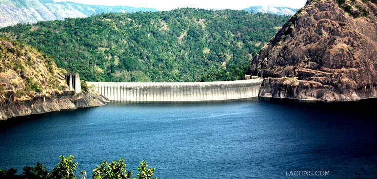 Idukki Dam construction and facts