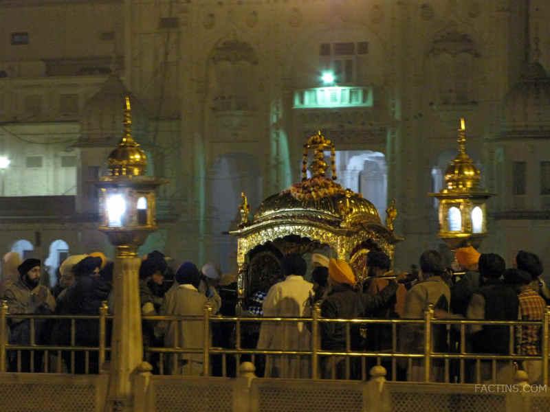 Darshan at Golden Temple