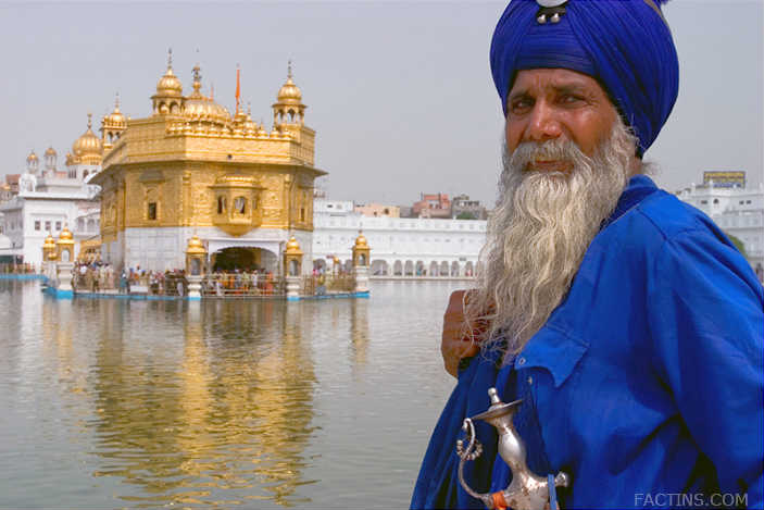 Holy Guards at Golden Temple