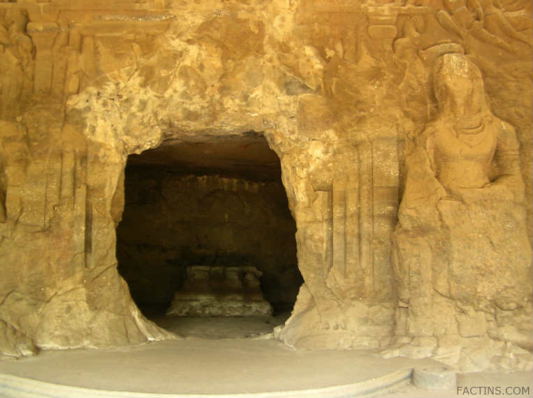 Smaller Cave - Elephanta Caves