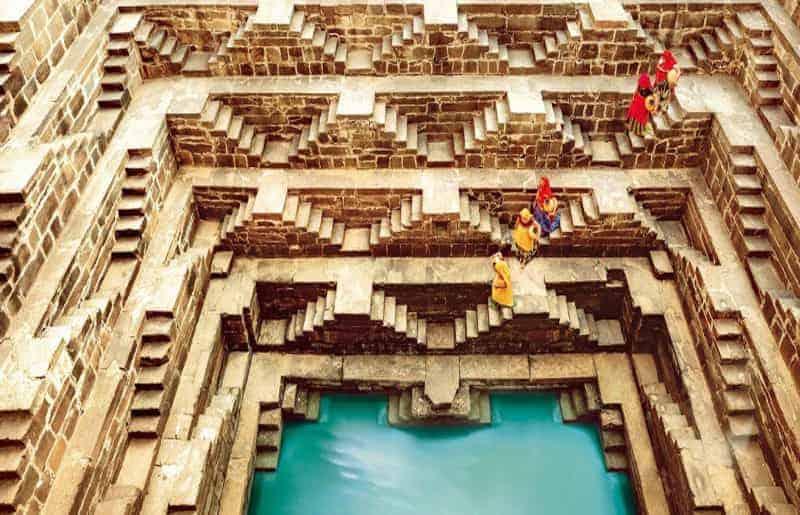 chand_baori - Agra Fort
