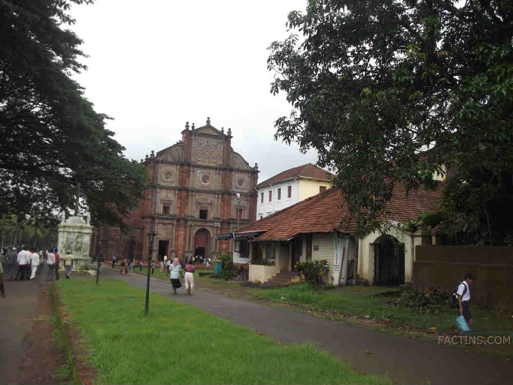 St. Francis Xavier Church - Front View