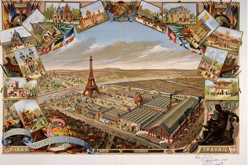 General view of Paris
