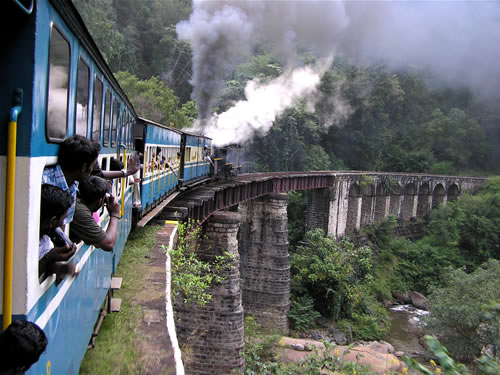 Ooty mountain train facts and information