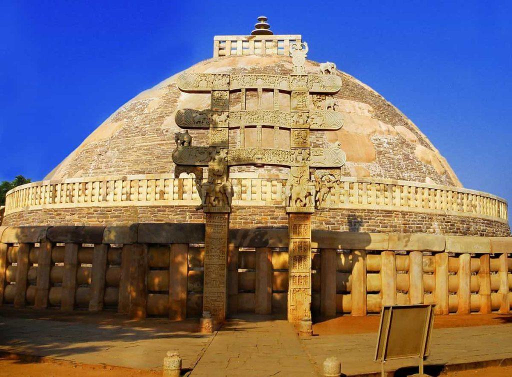 The Great stupa at sanchi - interesting facts about ashoka the great - Factins