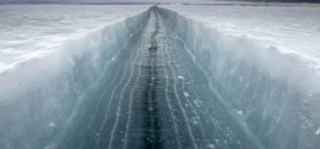 Massive crack in Antarctica ice shelf – Is it the start point ?