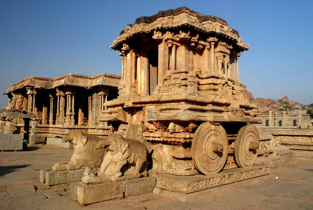 30 Interesting facts about Hampi temple chariot ...