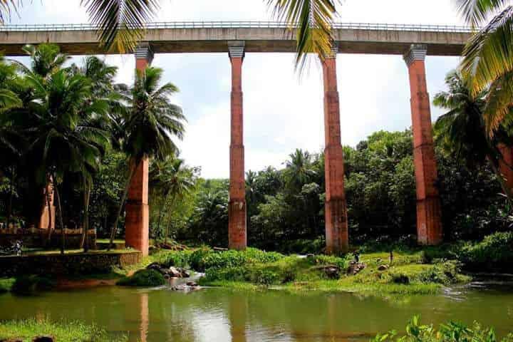 Mathur bridge aqueduct - Hanging Bridge - Factins