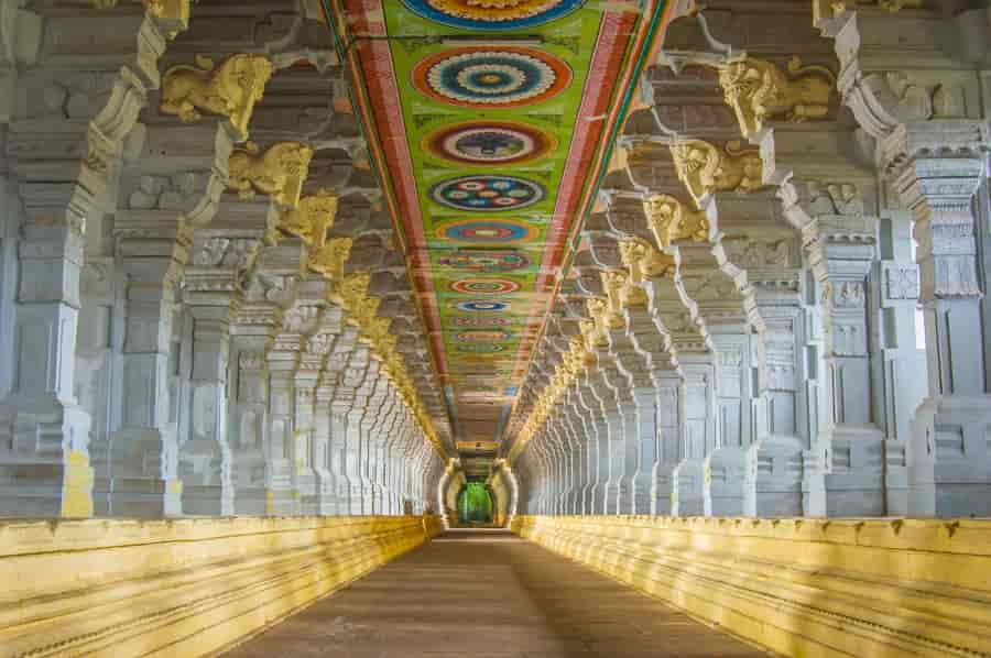 Rameshwaram Temple Corridor - Factins