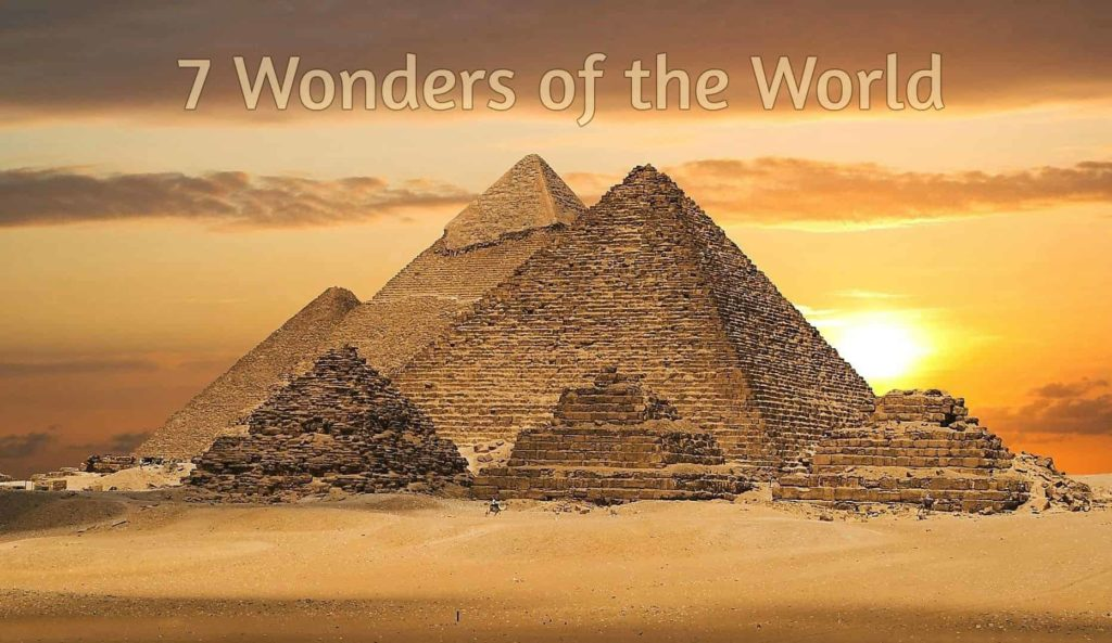 7 wonders of the world - Factins