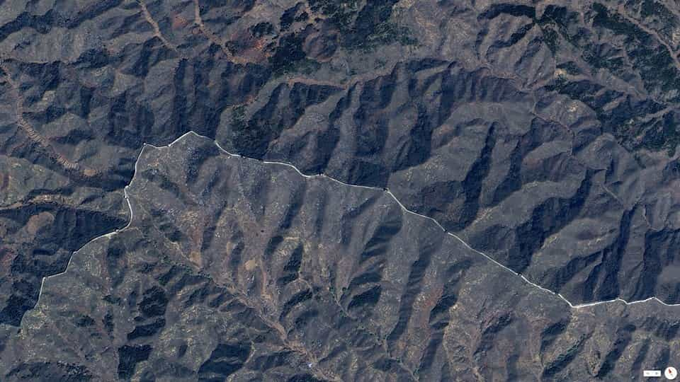 View From Space - great wall of china - Factins