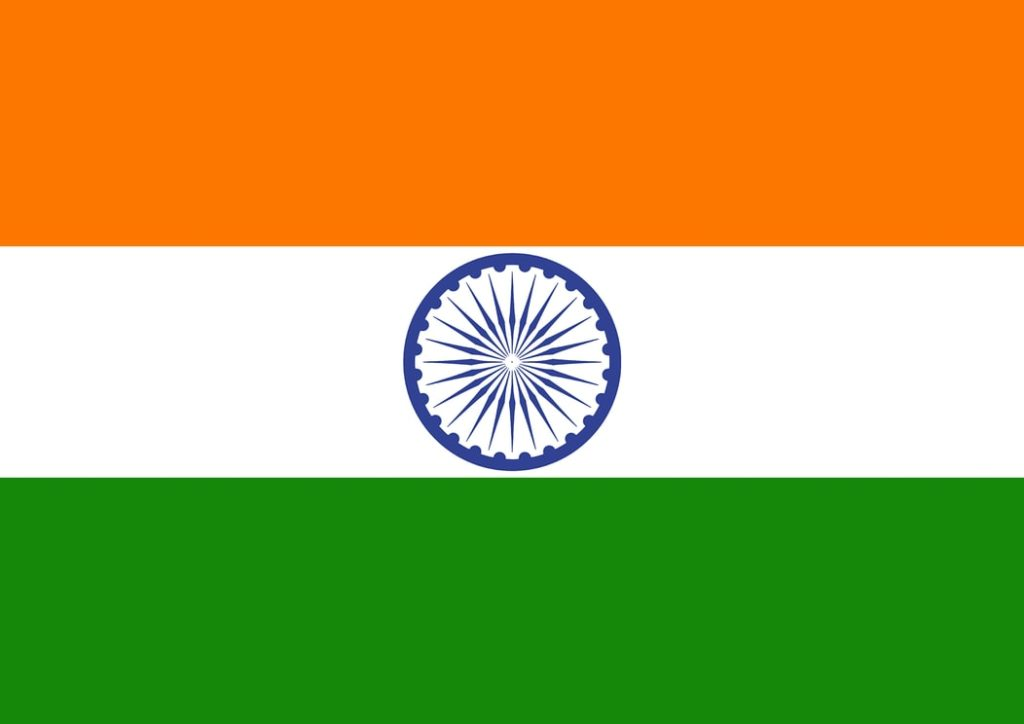 India Flag - facts about india