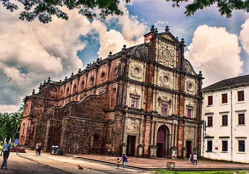 The Churches and Convents of Old Goa - UNESCO Heritage Place in India - Factins