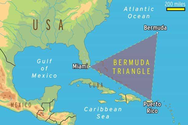 Bermuda Triangle facts - Factins