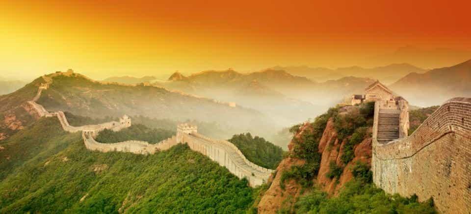 great wall of china- Factins