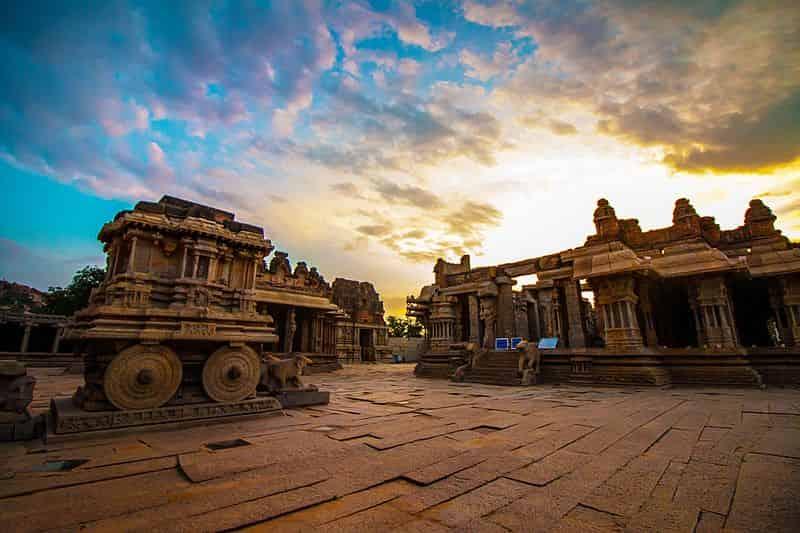 Hampi Monuments - UNESCO Heritage Place in India - Factins