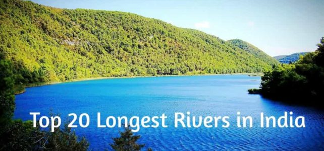 Top 20 Longest Rivers in India