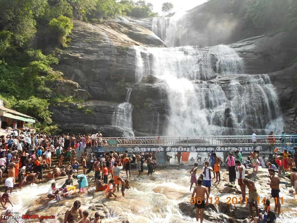 Courtallam Falls - Best Tourist Places in tamilnadu - Factins