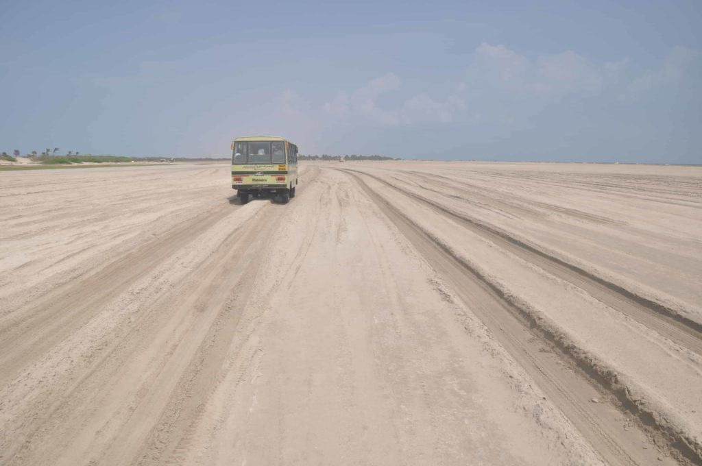 Dhanushkodi - Tourist Places in Tamilnadu - Factins