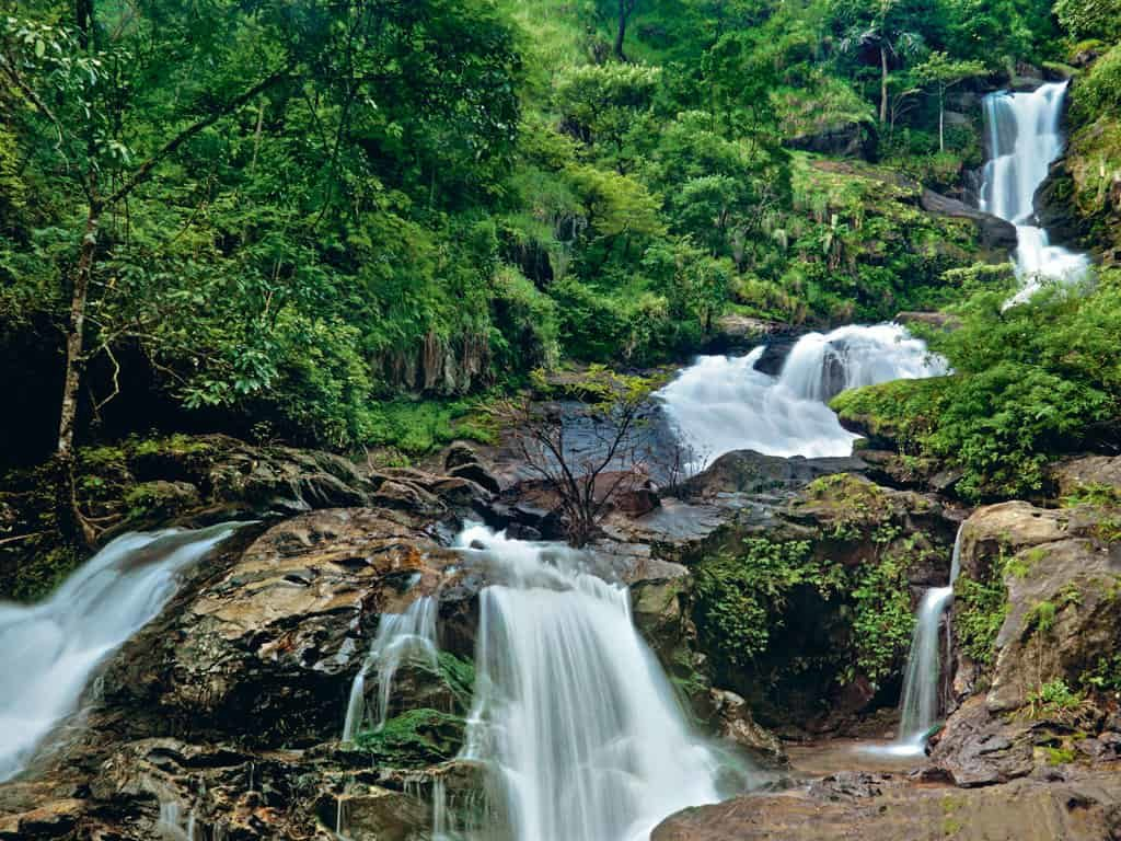 Law's falls - Best Tourist Places in tamilnadu - Factins