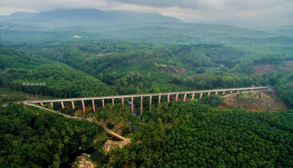 Best tourist places in tamilnadu - Mathoor Hanging Bridge - Mathur Aqueduct - Factins