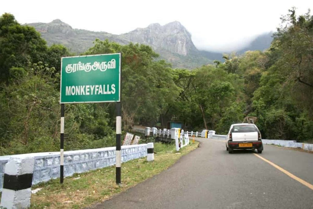 Monkey Waterfalls - Best Tourist Places in tamilnadu - Factins