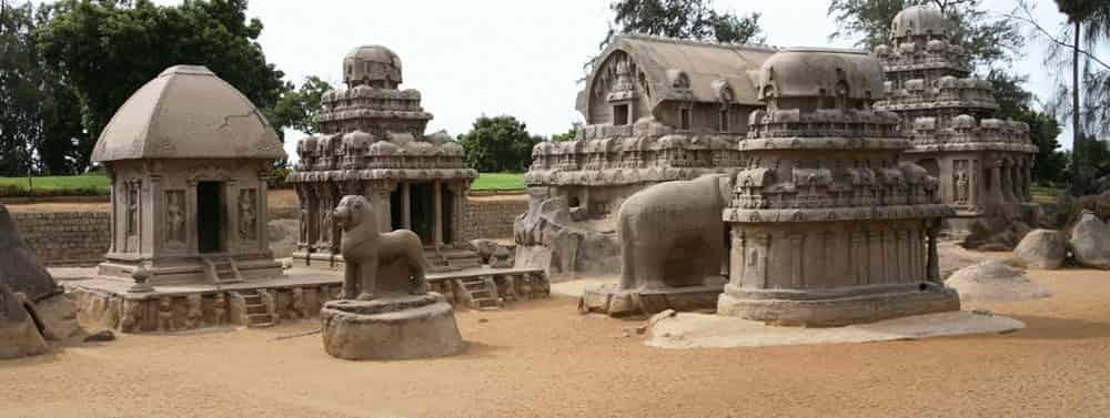 pancha rathas - group of monuments at mahabalipuram - factins