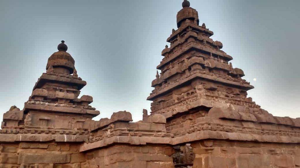shore temple architecture mahabalipuram - group of monuments at mahabalipuram - factins