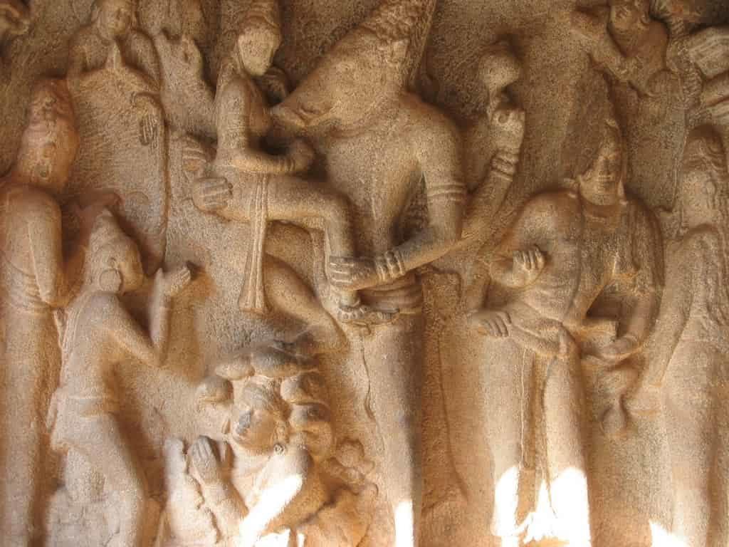 varaha cave temple mamallapuram - group of monuments at mahabalipuram - factins