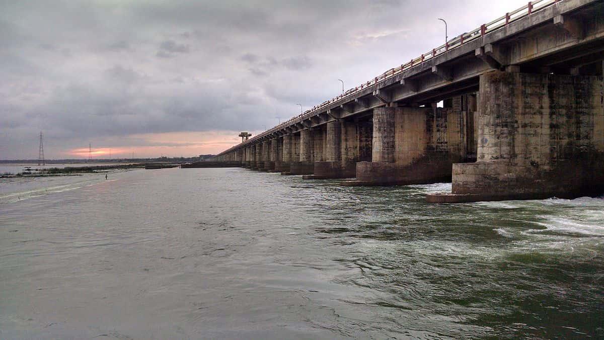 Dowleswaram Barrage - Dams in India - Factins
